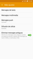 Samsung Galaxy J5 - Mensajería - Configurar el equipo para mensajes de texto - Paso 7