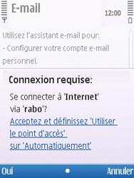 Nokia C5-00 - E-mail - Configuration manuelle - Étape 7