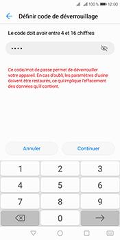 Huawei Y6 (2018) - Sécuriser votre mobile - Activer le code de verrouillage - Étape 8