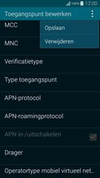 Samsung Galaxy Alpha - Internet - Handmatig instellen - Stap 15