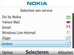 Nokia C3-00 - E-mail - handmatig instellen - Stap 5