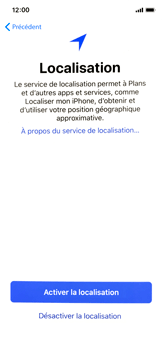 Apple iPhone X - Premiers pas - Configuration de l