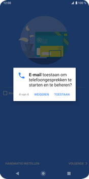 Sony Xperia XZ3 - E-mail - e-mail instellen (outlook) - Stap 13