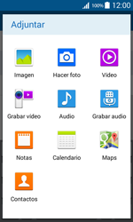 Samsung Galaxy Core Prime - Mensajería - Escribir y enviar un mensaje multimedia - Paso 14