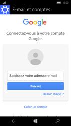 Microsoft Lumia 650 - E-mail - Configurer l