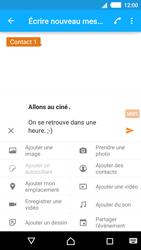 Sony Xperia M4 Aqua - Contact, Appels, SMS/MMS - Envoyer un MMS - Étape 12