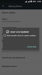 Acer Liquid Z6 Dual SIM - Network - Installing software updates - Step 7