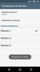 Sony Xperia X Performance (F8131) - Réseau - Sélection manuelle du réseau - Étape 12