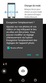 Sony Xperia XA1 Ultra - Photos, vidéos, musique - Créer une vidéo - Étape 4