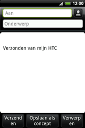HTC A6363 Legend - E-mail - Hoe te versturen - Stap 6