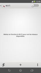 Sony Xpéria M2 - Internet et connexion - Accéder au réseau Wi-Fi - Étape 5