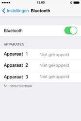 Apple iPhone 4 iOS 7 - bluetooth - aanzetten - stap 5
