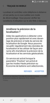 Samsung Galaxy A7 (2018) - Appareil - configurer Localiser mon appareil - Étape 8