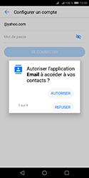 Huawei Y5 (2018) - E-mails - Ajouter ou modifier votre compte Yahoo - Étape 6