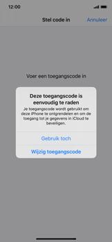 Apple iPhone 11 Pro - Beveiliging - stel in of wijzig pincode voor je toestel - Stap 6