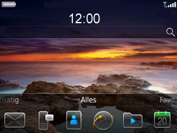 BlackBerry 9780 Bold - E-mail - E-mails verzenden - Stap 1