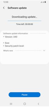 Samsung Galaxy A40 - Device - Software update - Step 8