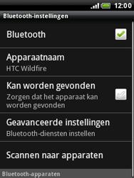 HTC A3333 Wildfire - Bluetooth - headset, carkit verbinding - Stap 6