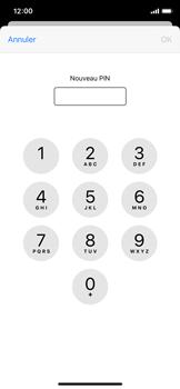 Apple iPhone XS - iOS 13 - Sécurité - modifier SIM PIN - Étape 8