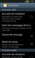 Samsung S7390 Galaxy Trend Lite - SMS - Configuration manuelle - Étape 8