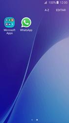 Samsung Galaxy A3 A310F 2016 - Aplicações - Como configurar o WhatsApp -  4