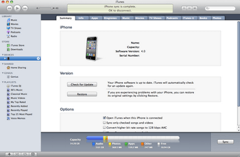 Apple iPhone 4 met iOS 5 - Software - Update installeren via PC - Stap 10