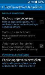 Samsung Galaxy Trend 2 Lite (SM-G318H) - Instellingen aanpassen - Fabrieksinstellingen terugzetten - Stap 5