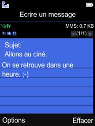 Mobiwire Leyti - Contact, Appels, SMS/MMS - Envoyer un MMS - Étape 10