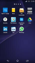 Sony Xperia M2 - Aplicações - Como configurar o WhatsApp -  4