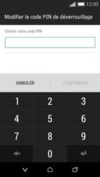HTC Desire 510 - Sécuriser votre mobile - Activer le code de verrouillage - Étape 7