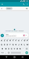 Nokia 3.1 - Contact, Appels, SMS/MMS - Envoyer un SMS - Étape 7