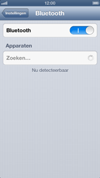 Apple iPhone 5 - Bluetooth - Aanzetten - Stap 4