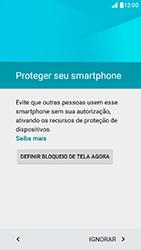 LG K10 - Primeiros passos - Como ativar seu aparelho - Etapa 10