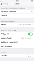 Apple iPhone 8 - E-mail - Configuration manuelle - Étape 25