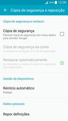 Samsung Galaxy A5 - Repor definições - Como repor definições de fábrica do telemóvel -  6