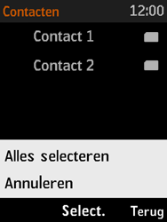 Nokia 3310 3G (TA-1022) - Contacten en data - Contacten kopiëren van SIM naar toestel - Stap 9