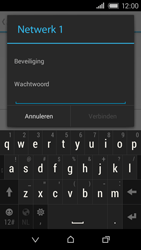 HTC Desire 320 - WiFi - Handmatig instellen - Stap 8