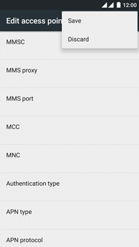 OnePlus 2 - Mms - Manual configuration - Step 16