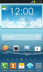 Samsung I8190 Galaxy S III Mini - Email - Como configurar seu celular para receber e enviar e-mails - Etapa 1