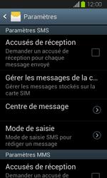 Samsung I8730 Galaxy Express - SMS - Configuration manuelle - Étape 8
