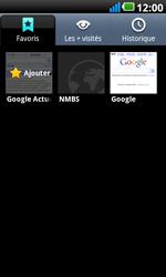LG P990 Optimus 2X Speed - Internet - navigation sur Internet - Étape 10