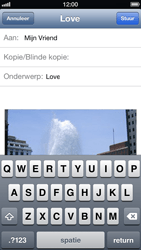 Apple iPhone 5 - E-mail - Hoe te versturen - Stap 9