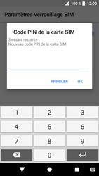 Sony Xperia XZ1 - Sécuriser votre mobile - Personnaliser le code PIN de votre carte SIM - Étape 8