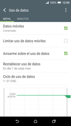 HTC One A9 - Internet - Ver uso de datos - Paso 8