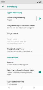Wiko View 2 Plus - Beveiliging - stel in of wijzig pincode voor je toestel - Stap 5