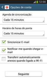 Samsung Galaxy Grand Neo - Email - Adicionar conta de email -  8