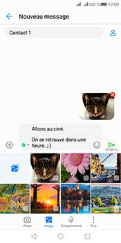 Huawei Mate 10 Pro - Contact, Appels, SMS/MMS - Envoyer un MMS - Étape 19