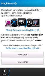 BlackBerry Z10 - Applicaties - Account aanmaken - Stap 8