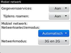 BlackBerry 9720 Bold - Netwerk - Gebruik in het buitenland - Stap 6