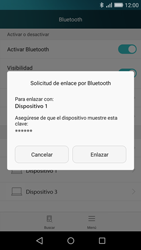 Huawei P8 Lite - Bluetooth - Conectar dispositivos a través de Bluetooth - Paso 6